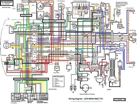 Bmw R75 5 Wiring Diagram by Bmw R80 7 Tic Updated Wiring Diagram This Wiring Diagram