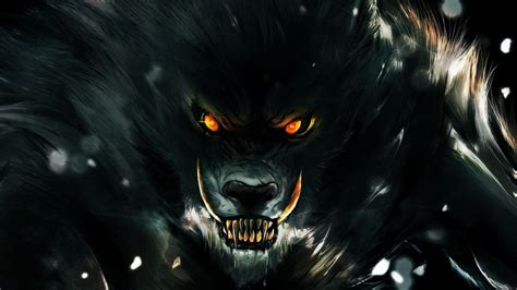 Beast Scary Wolf Wallpaper by 60 Wolf Wallpapers At Wallpaperbro
