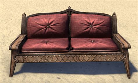 eso fashion redguard couch padded elder scrolls