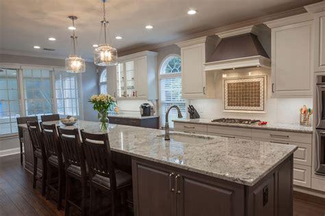 galley style kitchen  large island cheryl pett design