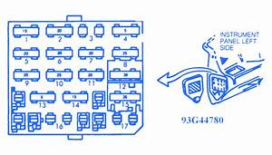 Chevrolet Corsica 1992 Fuse Box  Block Circuit Breaker Diagram