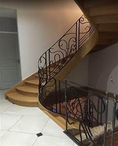 L Escalier Grenoble : escalier design contemporain bois m tal 38 isere voiron bourgoin tour du pin vienne ~ Dode.kayakingforconservation.com Idées de Décoration