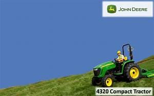 John Deere 4320 Compact Tractor Wallpaper
