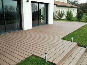 Terrasse Bois Composite : bois composite pour terrasse am nager terrasse avranches ~ Premium-room.com Idées de Décoration