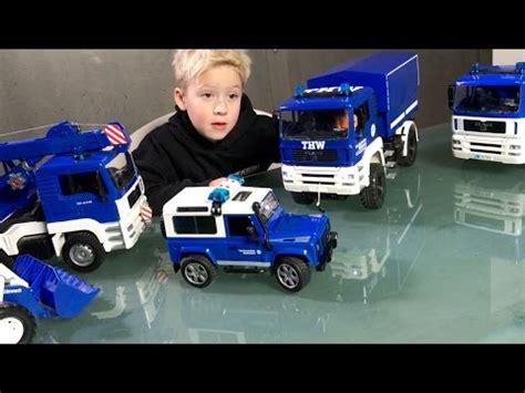 bruder toys thw truck collection special bruder trucks