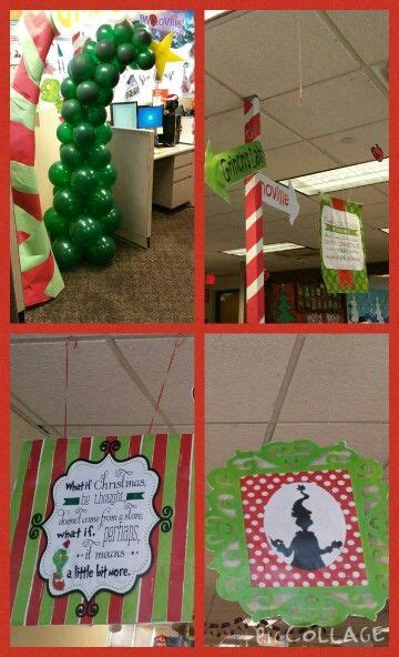 grinch  stole christmas decorating ideas