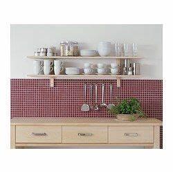 Ikea Arbeitsplatte Birke : v rde wandregal mit 5 haken birke k che wandregal ikea und handtuchstange ~ Buech-reservation.com Haus und Dekorationen