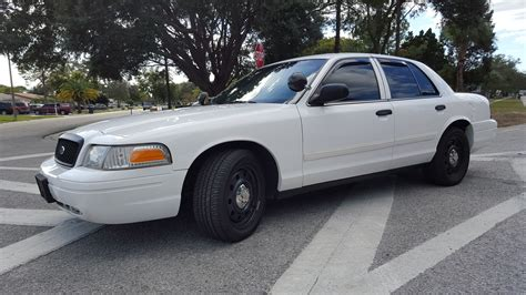 crown victoria p police interceptor   miles