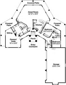 style house plans hexagonal home plan styles