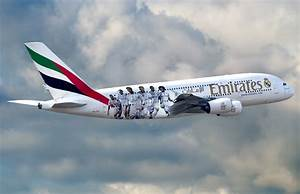 Real Madrid football stars fly high on an Emirates A380 ...