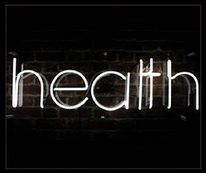 Health Neon Sign