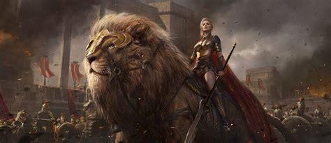 Artstation  Lion, Shuo Shi