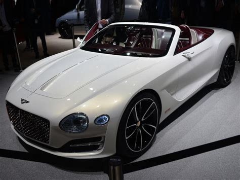 Bentley Chooses To Build Ev Sports Car Over Small Suv