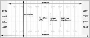High School Of American Football Field Dimensions Pictures