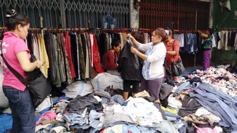 pasar sambu medan pusat pakaian bekas  luar negeri