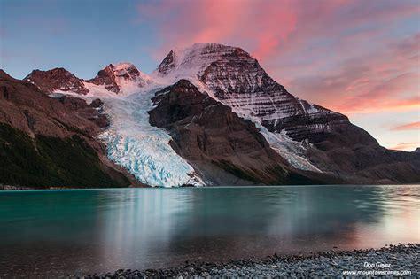 Mount Robson, Berg Lake, sunset, rockies, Mount Robson ...