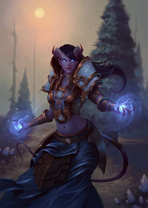 Best Tiefling Female Ideas And Images On Bing Find What You Ll Love