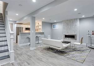 47 cool finished basement ideas design pictures for Stylish small finished basement ideas