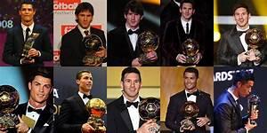 Adidas Messi vs Nike Ronaldo Ballon d'Or Boots History ...
