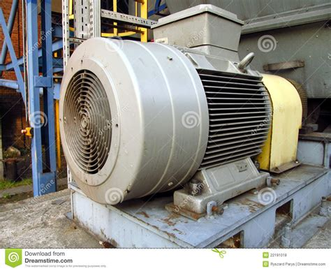 Largest Electric Motor by Large Electric Motor Stock Photo Image Of Exhaust