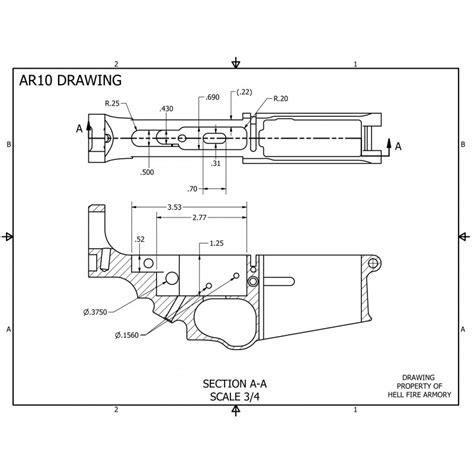 professional airtech grade fan ar 10 lower receiver blueprints quotes