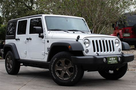Used 2016 Jeep Wrangler Unlimited Sport For Sale (,995