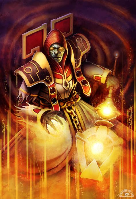 dizzler  undead priest  rogierb  deviantart
