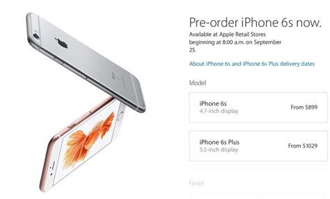 iphone 6s pre order poll what iphone 6s or iphone 6s plus model did you pre