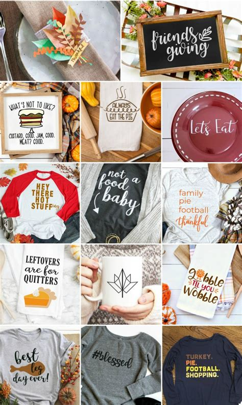 160+ free files is awesome, but 300+ free commercial cut files is even better! Free Friendsgiving SVG + 14 Free Thanksgiving SVGs! - Hey ...