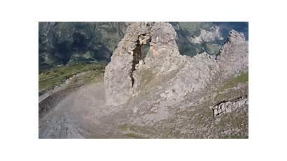 Wingsuit Rock Hole Through Outdoors 1200 Tiny