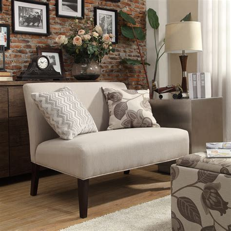small space loveseat armless loveseats for small spaces awesome armless