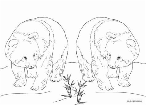 printable panda coloring pages  kids