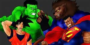 Lionman0812 Vs Hulk Vs Goku Vs Superman by MikeES on ...