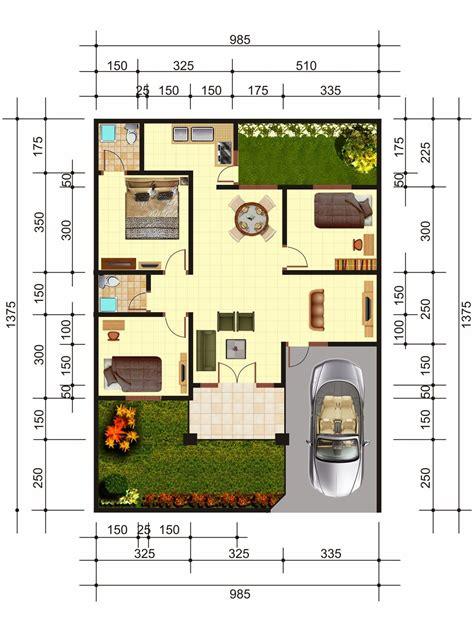 desain rumah minimalis beserta denahnya desain rumah