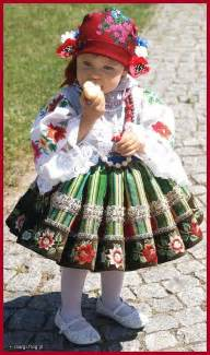 Polish Girl Traditional Costume