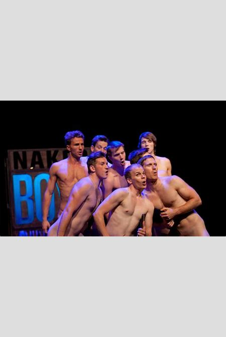 Naked Boys Singing - A particularly revealing revue | Reviews