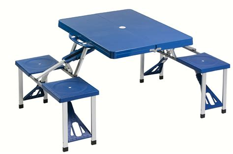 table pliante camping avec places glamour idees chaises
