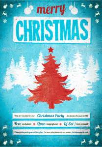 christmas poster templates free psd eps png vector creative template