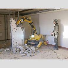 The Remote Controlled Brokk 60 Ii Demolition Machine