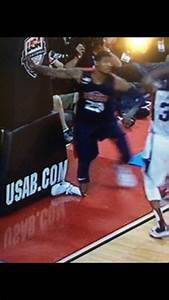 Oh Damn Paul George injury so nasty   ::  Showtime  :: Los ...