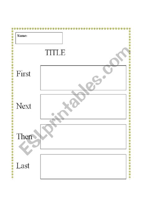sequence template worksheet  worksheet blog