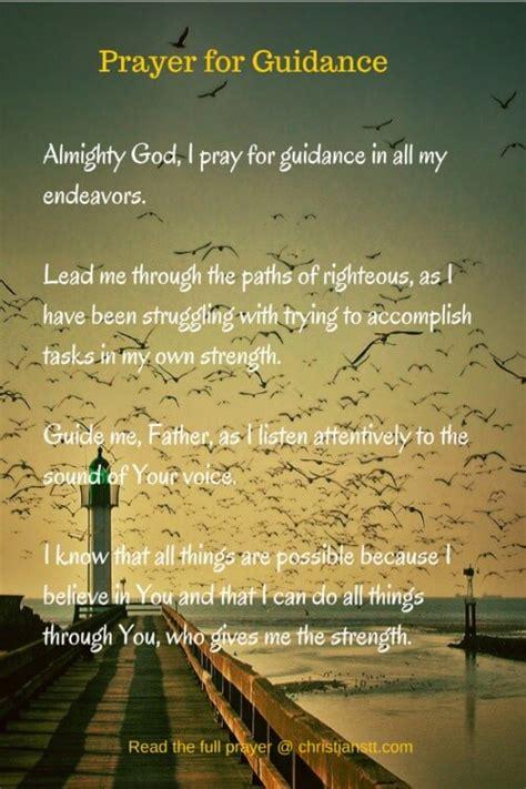 prayer  guidance