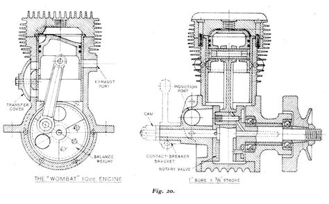 Model Airplane Engine Diagram by Two Stroke Petrol Engine Diagram Automotive Parts