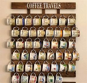 Amazon, Com, Collectible, You, Are, Here, And, Been, There, Coffee, Mug, Rack, 48, Or, 56, Mug, Hooks, Xl, You