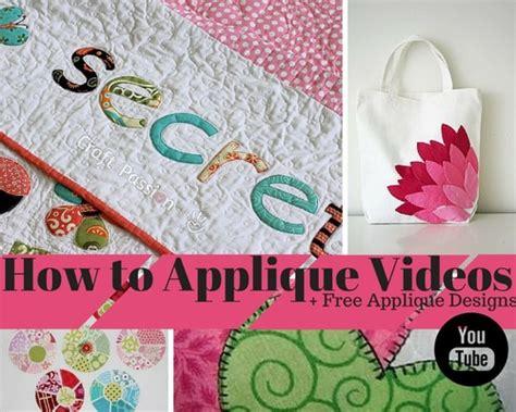How To Applique by 29 How To Applique Free Applique Designs