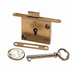 Full Mortise Chest Lock Rockler Woodworking and Hardware