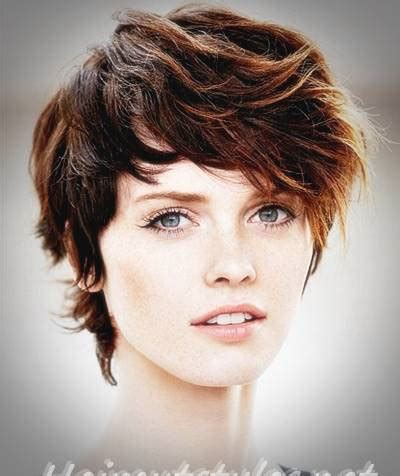 short shag haircut short shaggy hairstyles  women