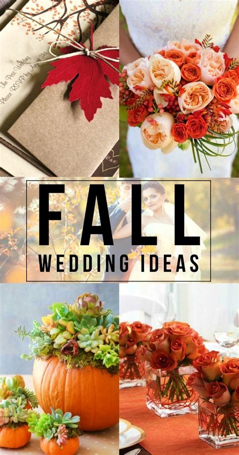 21 Cheap Fall Wedding Flower Ideas To Spark Inspiration