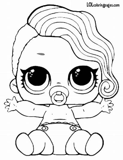 Coloring Pages Splash Lil Queen Lol Doll