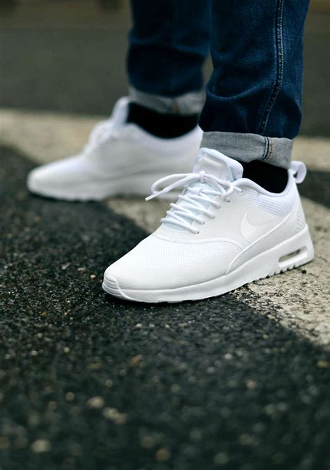 ultra clean nike air max thea all white soletopia